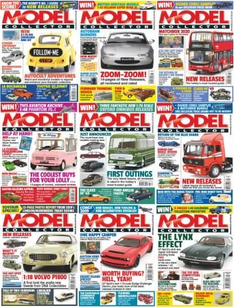 Model Collector – 2019 Full Year Issues Collection