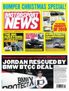 Motorsport News – December 18, 2019
