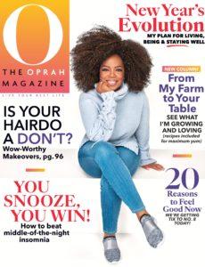 O, The Oprah Magazine – January 2020
