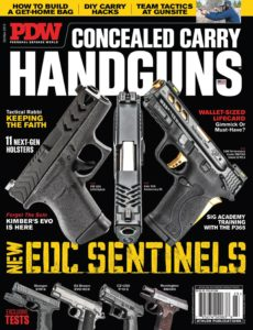Personal Defense World – Issue 223 – Concealed Carry Handguns – October-November 2019