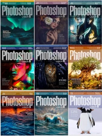 Photoshop User – 2019 Full Year Issues Collection