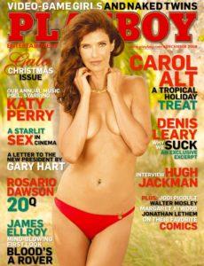 Playboy USA – December 2008
