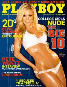 Playboy USA – October 2008