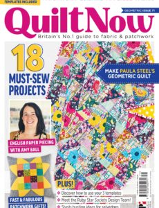 Quilt Now – Issue 71 – December 2019