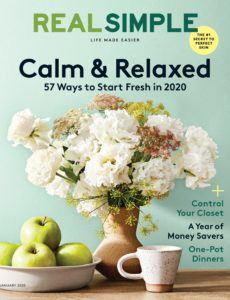 Real Simple – January 2020