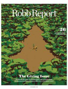 Robb Report USA – December 2019