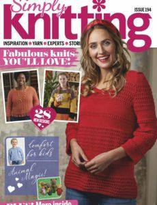 Simply Knitting – February 2020