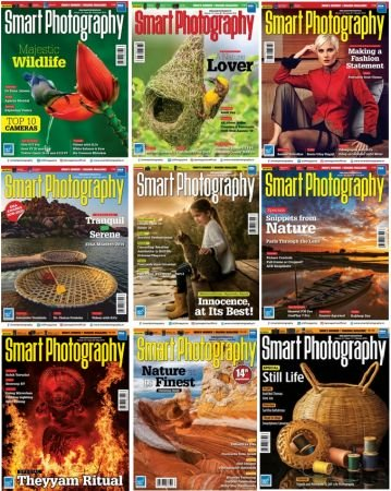 Smart Photography – 2019 Full Year Issues Collection