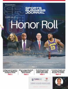 SportsBusiness Journal – 16 December 2019