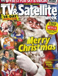 TV & Satellite Week – 21 December 2019