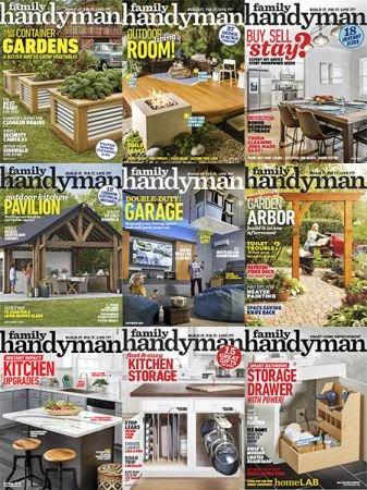 The Family Handyman – 2019 Full Year Issues Collection