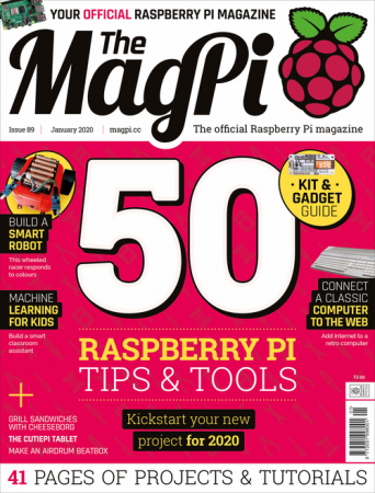 The MagPi – Issue 89, January 2020
