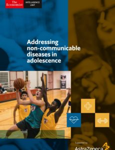 The Economist (Intelligence Unit) – Addressing non-communicable diseases in adolescence (2019)