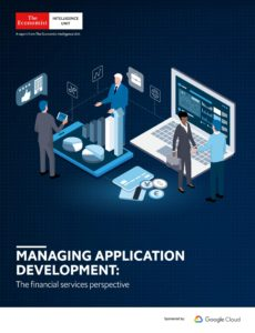 The Economist (Intelligence Unit) – Managing Application Development The financial services persp…