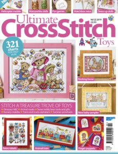 Ultimate Cross Stitch – Volume 22 – Toys 2019