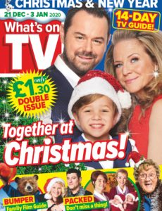 What's on TV – 21 December 2019