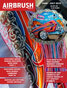 Airbrush The Magazine – Issue 2 – June-July 2019
