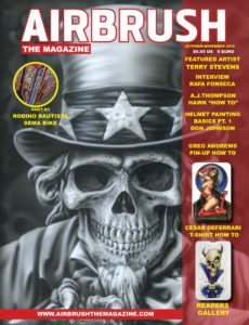 Airbrush The Magazine – Issue 4 – October-November 2019