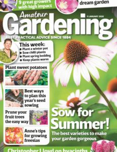 Amateur Gardening – 11 January 2020