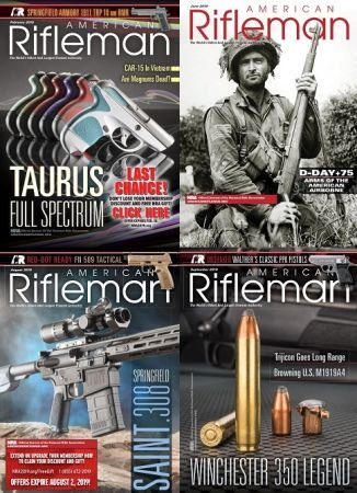 American Rifleman – 2019 Full Year Issues Collection