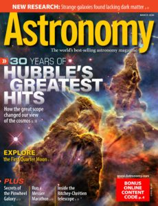 Astronomy – March 2020