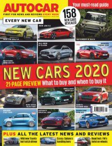 Autocar UK – 02 January 2020