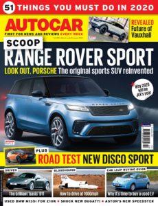 Autocar UK – 08 January 2020