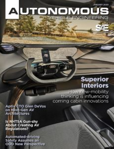 Autonomous Vehicle Engineering – January 2020