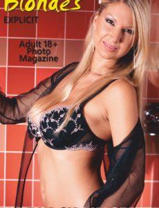 Blondes in Black Lingerie – Volume 4 – January 2020