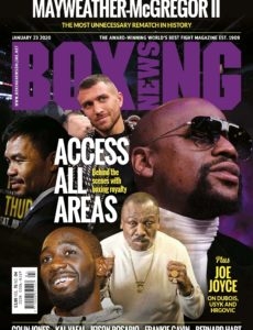 Boxing News – January 23, 2020