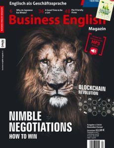 Business English Magazin – Dezember 2019 – Januar 2020