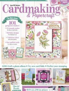 Cardmaking & Papercraft – March 2020