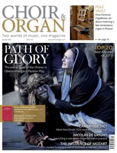 Choir & Organ – January 2020