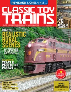 Classic Toy Trains – March 2020
