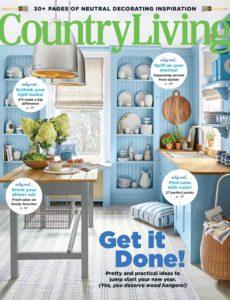 Country Living USA – January 2020
