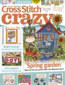 Cross Stitch Crazy – March 2020