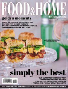 Food & Home Entertaining – February 2020