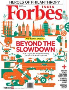 Forbes India – January 31, 2019