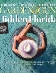 Garden & Gun – December 2019 – January 2020