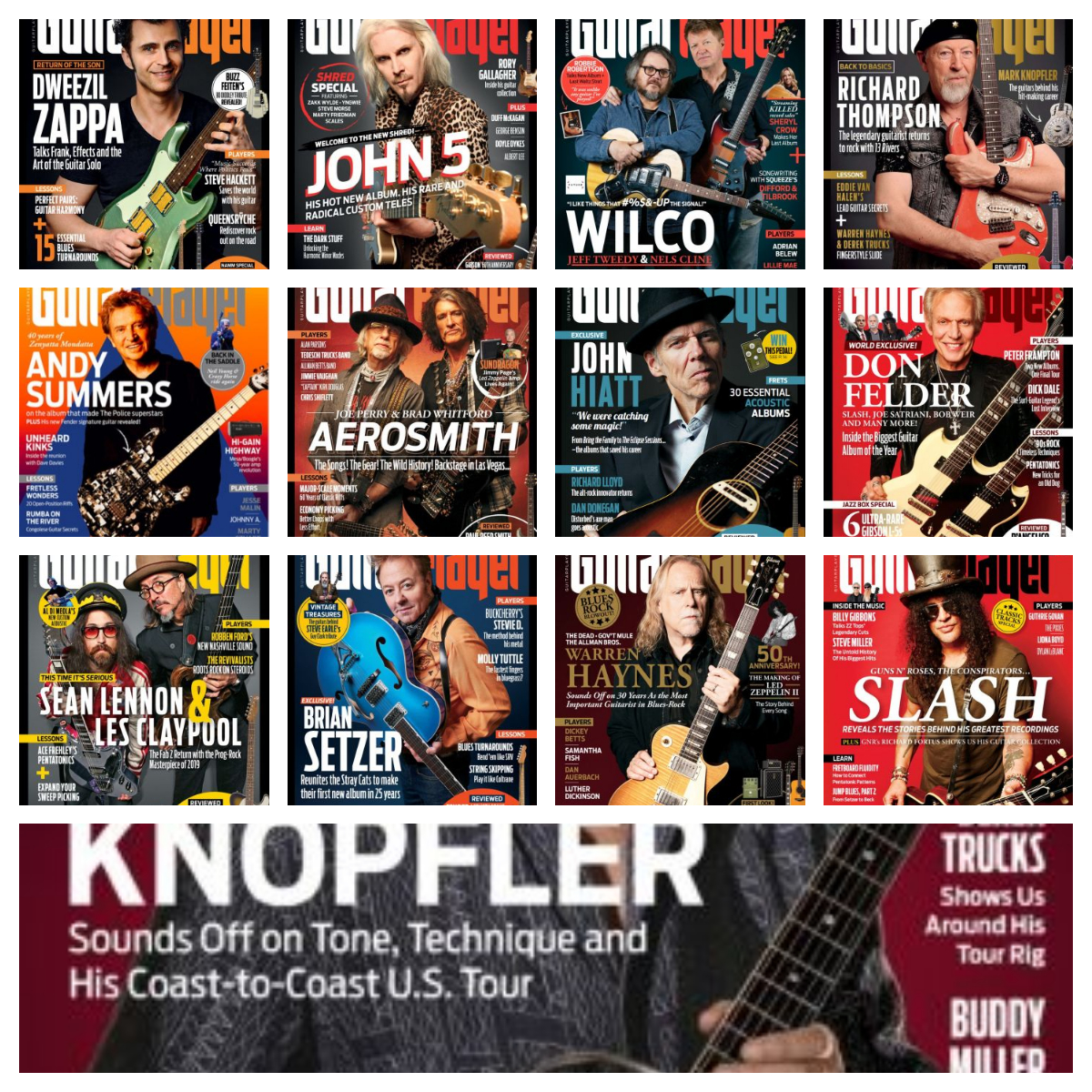 Guitar Player – 2019 Full Year Issues Collection