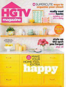 HGTV Magazine – January 2020