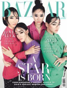 Harper's Bazaar Singapore – January 2020