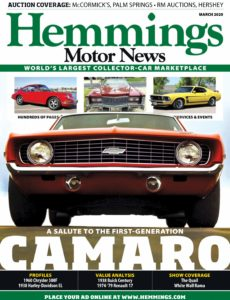 Hemmings Motor News – March 2020