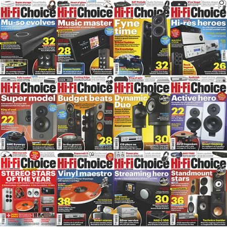 Hi-Fi Choice - 2019 Full Year Issues Collection