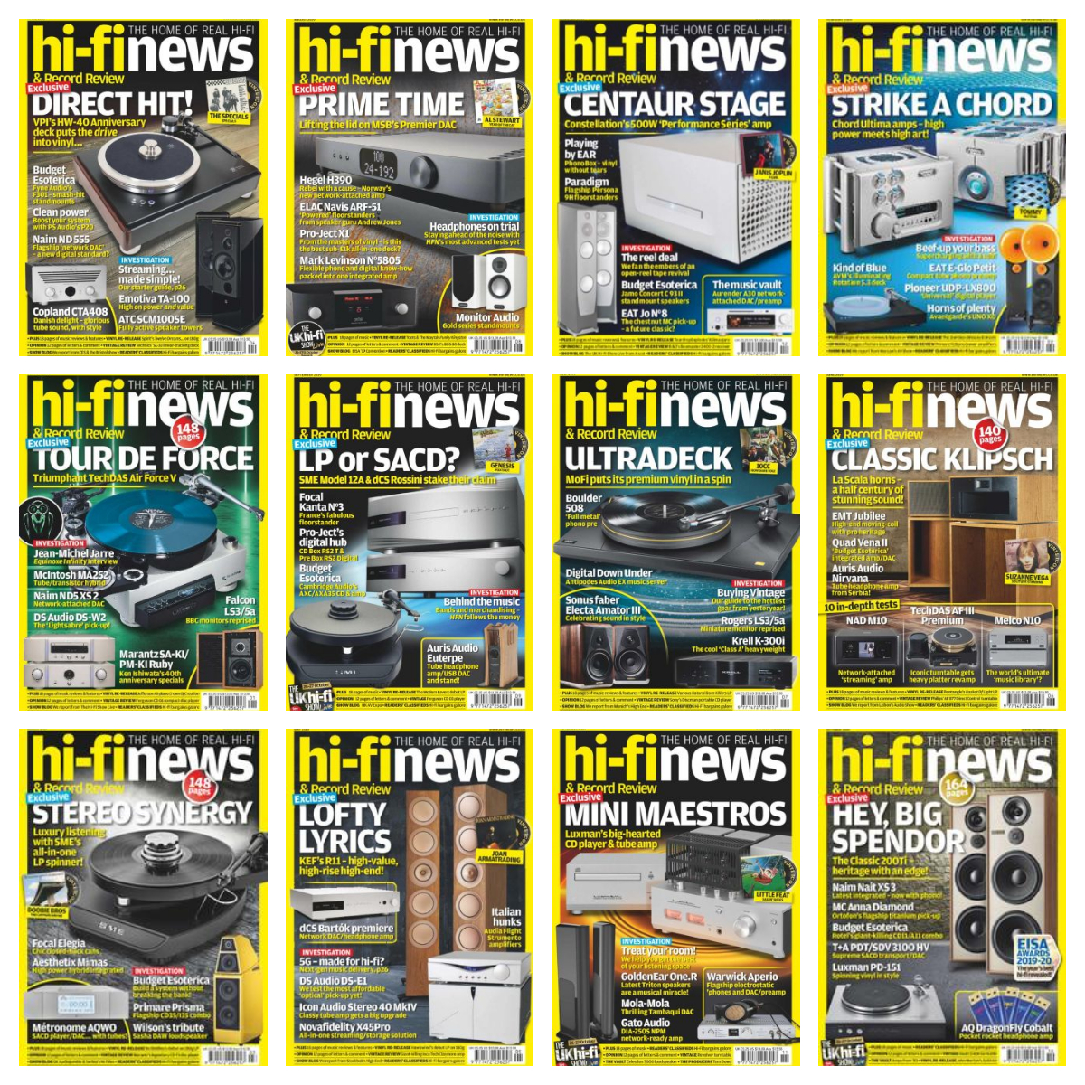 Hi-Fi News – 2019 Full Year Issues Collection