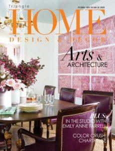 Home Design & Decor Triangle – Feburaury-March 2020