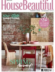 House Beautiful UK – March 2020