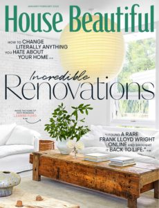 House Beautiful USA – January-February 2020