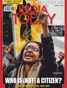 India Today – January 20, 2020