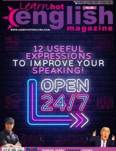 Learn Hot English – Issue 212 – January 2020